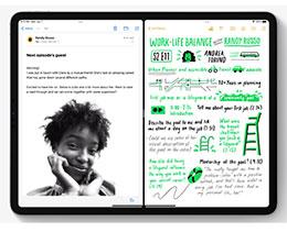 如何在 iPadOS 15 中使用分屏功能?