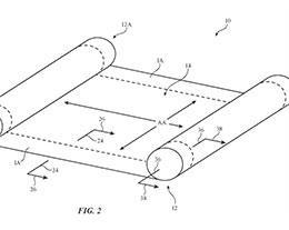 苹果获得新专利,或预示折叠屏/卷轴屏 iPhone 在望