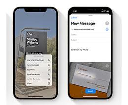 iOS 15 小技巧:支持识别图片中的地址并跳转到地图