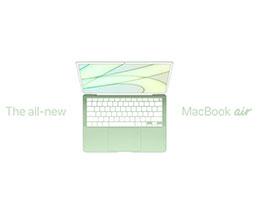 传苹果将在明年推出新 MacBook Air:M2 芯片,多彩机身