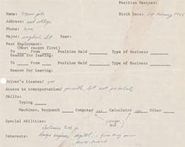 乔布斯 18 岁首份求职信将以 NFT 和实物两种形式拍卖