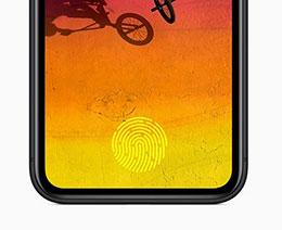 苹果新专利:为 iPhone 配备屏下 Face ID 和指纹传感器