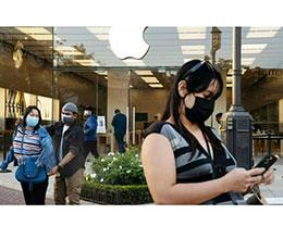 苹果美国零售店要求所有员工和顾客佩戴口罩
