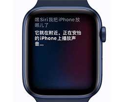 使用 Apple Watch 找到 iPhone 所在位置的两个方法