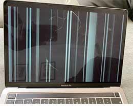 部分用户报告:苹果 M1 MacBook Air/Pro 屏幕在正常使用中出现裂缝