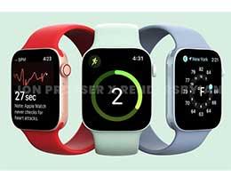 苹果 Apple Watch Series 7 曝光:6 款型号,运行 watchOS 8,边框更窄