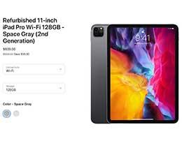 苹果官翻版 2020 iPad Pro 开售,最高优惠 200 美元