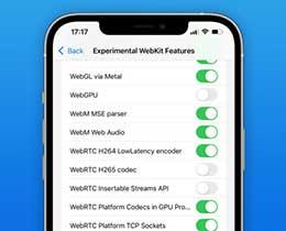 苹果 iOS 15 Beta 5 发布,Safari 浏览器新增支持 WebM 音频编解码器