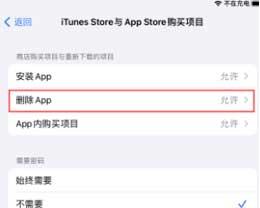 iPhone如何防止误删App?