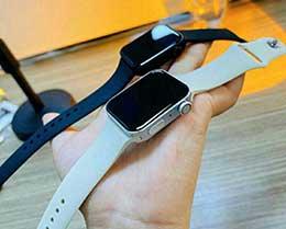 Apple Watch Series 7 模型机照片曝光:方方正正