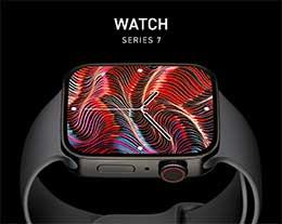 全新 Apple Watch Series 7 概念渲染欣赏