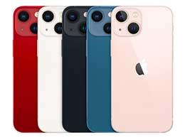 苹果:iPhone 13 系列包装盒将不再包覆塑料膜