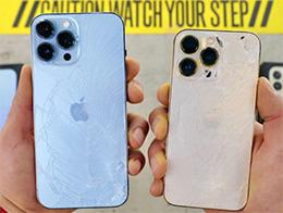 苹果 iPhone 13 Pro/Max 容易摔坏吗?网友分享跌落测试