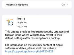 苹果暂时关闭 iPhone 13 全系 iOS 15 正式版(19A346)固件验证
