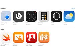 苹果已允许用户在 App Store 对 iPhone 内置 App 进行打分评价