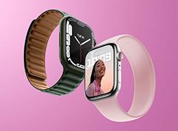 传 Apple Watch Series 7 最早下周预购,本月中旬发售