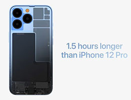 苹果 iPhone 13 系列电池续航实测
