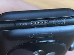 """Apple Watch Series 7 去掉了诊断接口,成为""""全无线""""产品"""