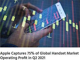 Q2 苹果 iPhone 占全球智能手机销量的 13%,但利润高达 75%