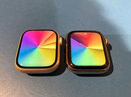Apple Watch Series 7 与 Series 6 屏幕尺寸对比