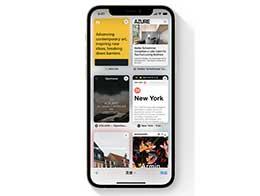 iOS 15 使用技巧:在 Safari 浏览器上使用全新标签页