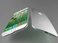 苹果iPhone6 3D渲染图开卖