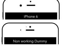 一张图片教你辨别真假iPhone6