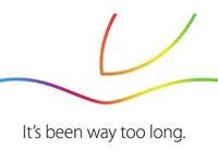 久违了!苹果发出16日发布会邀请函