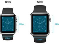 苹果Apple Watch 两种分辨率曝光