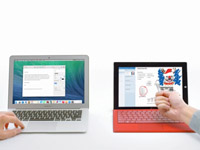 微软Surface Pro广告也嘲讽苹果了