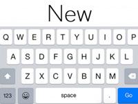 iOS 8.3优化键盘:空格键更长