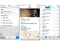 iOS8 beta5新技能:地图信息导入通话记录