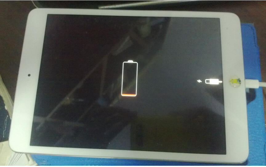iPad充不进去电怎么回事