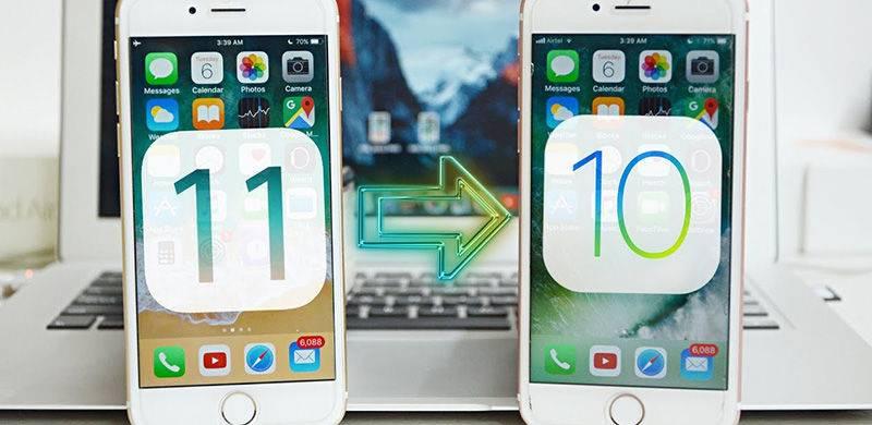iPhone5S从iOS 11降级iOS10.3.3教程