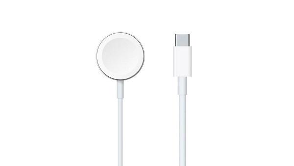 苹果发布全新 Apple Watch 磁力充电器转 USB-C 连接线