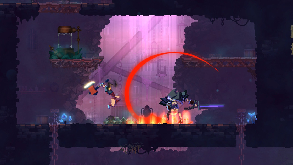 这款引爆全球的动作游戏终于降临IOS,感受《死亡细胞》的疯狂体验吧!