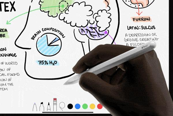 新款 iPad Pro 和 Apple Pencil 的  5 个一定要知道的搭配使用技巧