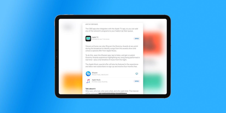 通过 Shazam 注册 Apple Music,可以获得 4 个月免费试用时长
