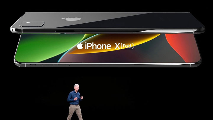 最新可折叠 iPhone 概念图欣赏,包装盒非常抢眼