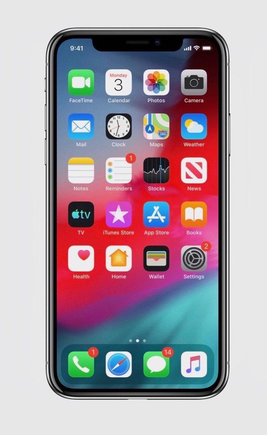 苹果 iOS 13 系统首批截图曝光:深色模式来了