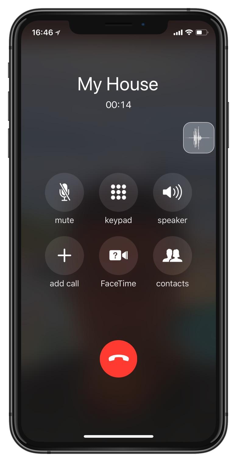 教你在 iPhone 语音通话时设置变音效果