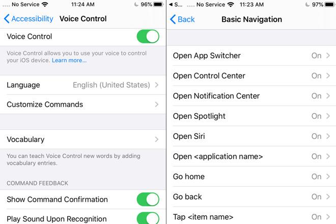 iOS 13 全新语音辅助功能:不用动手也可以控制设备