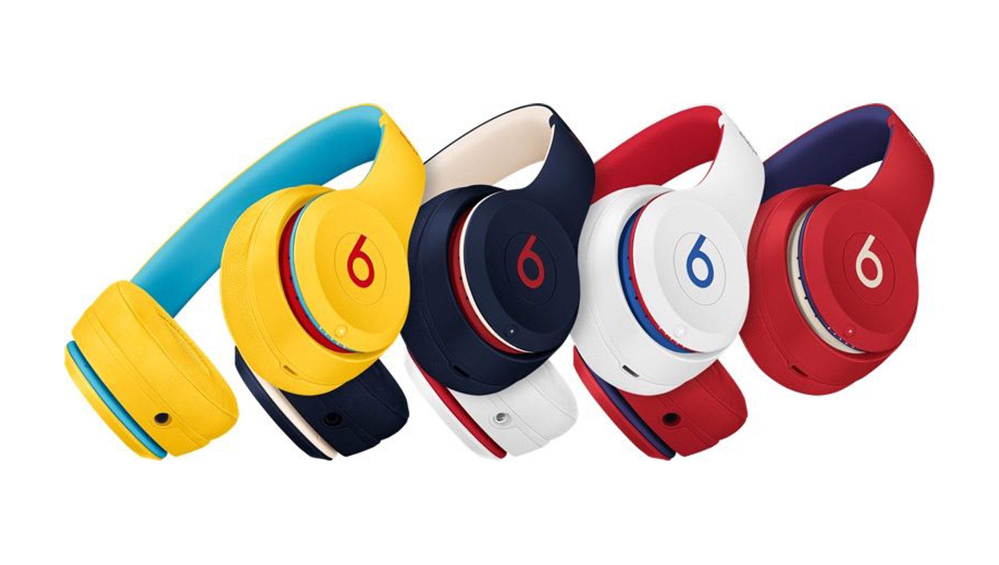 苹果发布全新 Beats Club Collection 无线耳机:配色出众
