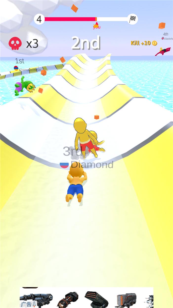 怎么赖皮怎么来 Aquapark.io试玩
