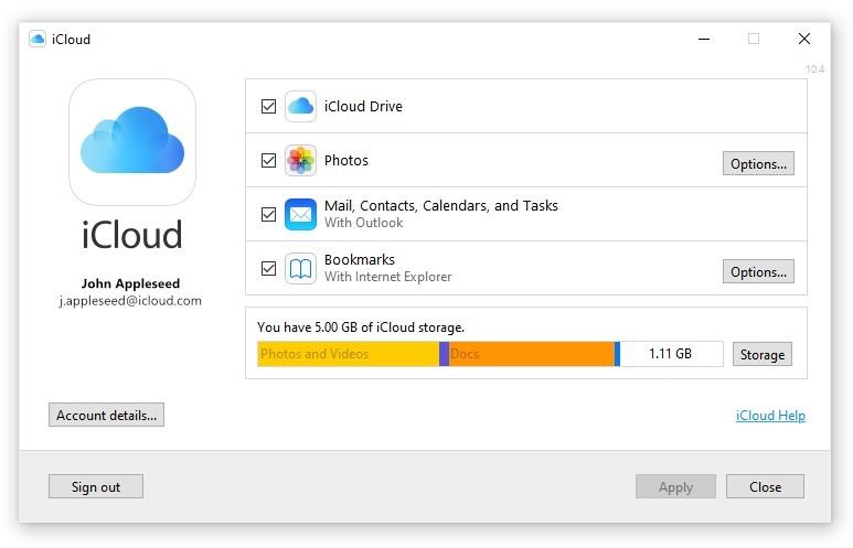 iCloud for Windows 正式登陆微软商店