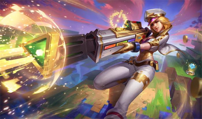 《英雄联盟》推出电玩系列新皮肤 新英雄在列