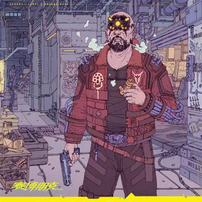 《赛博朋克2077》推出典藏铁盒 封面展示四大势力