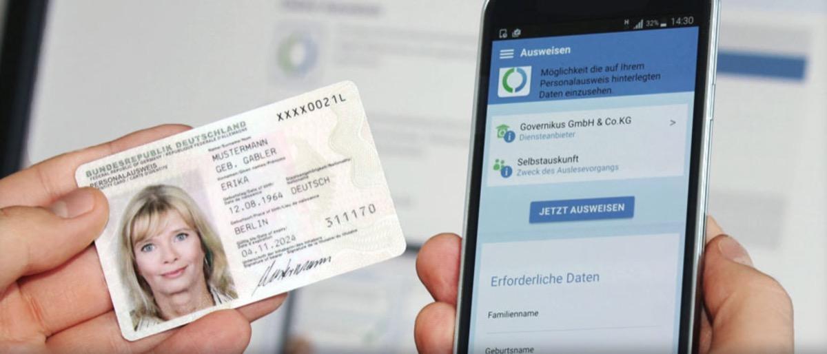iPhone 更新到 iOS 13 后可读取德国身份证件信息