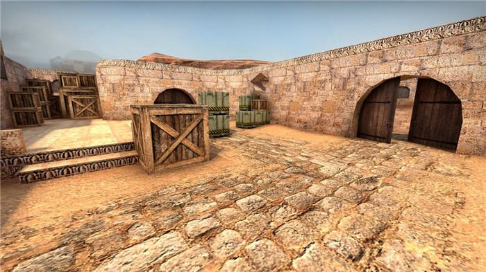 反恐精英20周年庆 《CS:GO》加入复古沙漠2地图