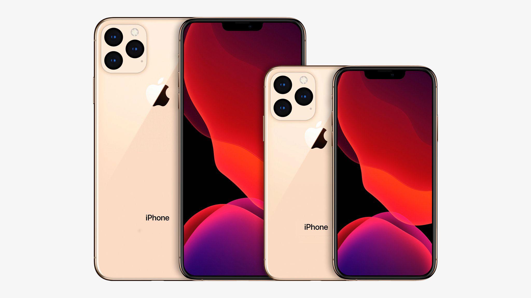 2020 年款 6.7 寸和 5.4 寸 iPhone 概念渲染图曝光